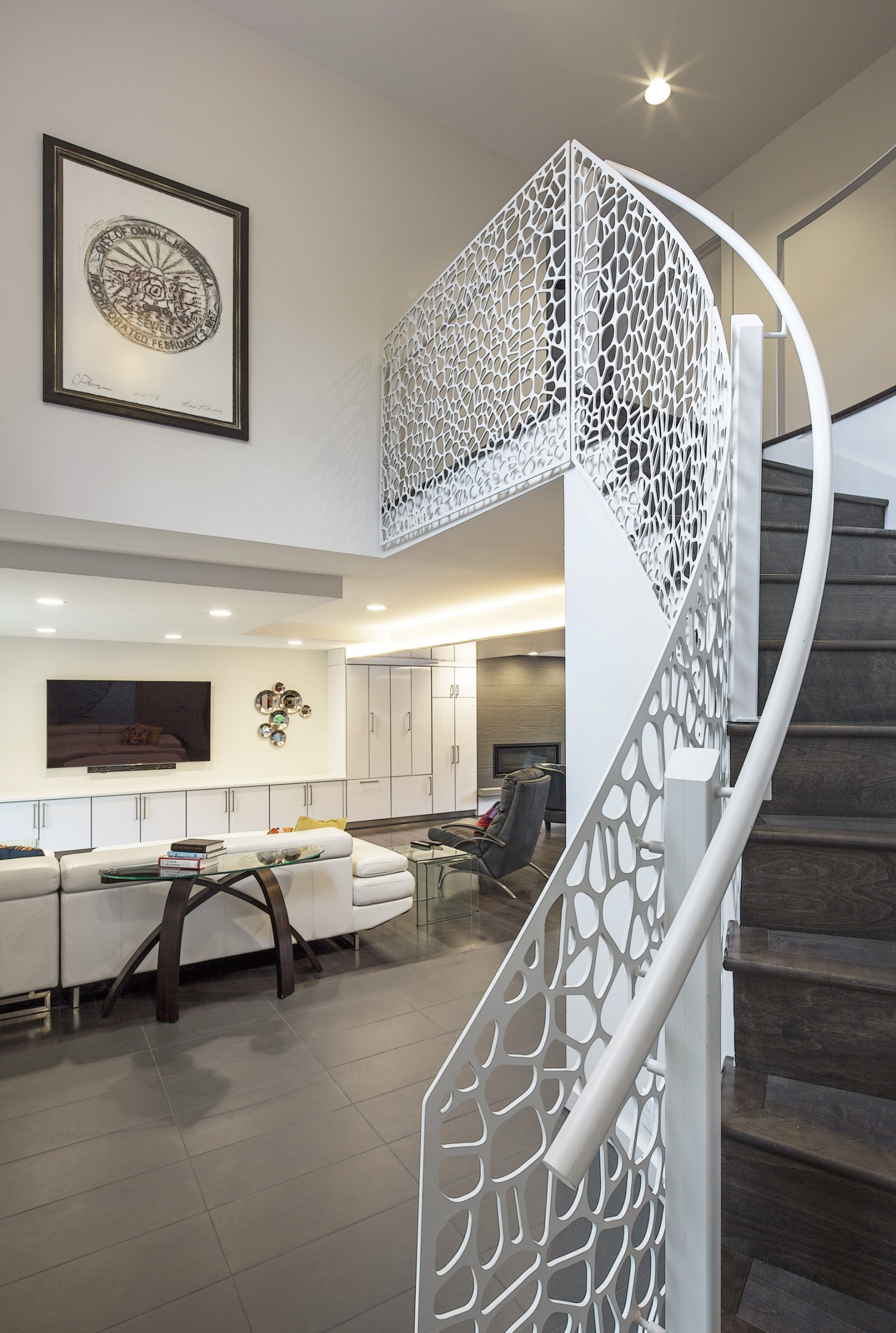 Effinger Residence Stair