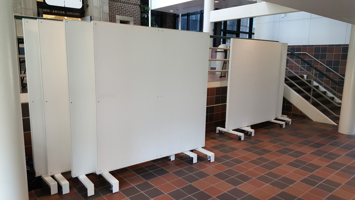 UNL College of Arch Rolling Panels